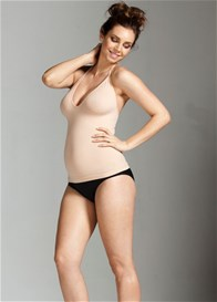 Queen Bee Halter Neck Maternity Shapewear Tank by Nearly Nude