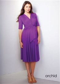 Queen Bee Chantelle Tie Front Maternity Dress by Maternal America