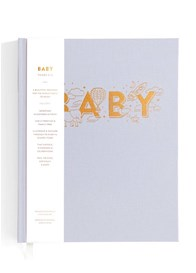 Fox & Fallow - Baby Book for Boys in Grey