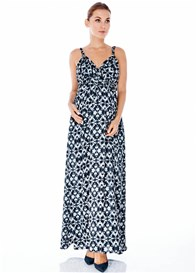 Imanimo - Stephanie Maxi Dress in Black Kaleidoscope - ON SALE