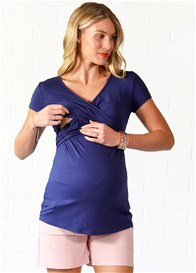 Lait & Co - Delaunay Nursing Top in Navy