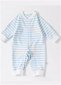 Lait & Co - Lille Onesie in Blue Stripes