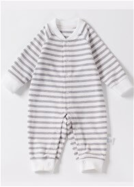 Lait & Co - Lille Onesie in Grey Stripes