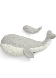 Mamas & Papas - Super Soft Whale and Baby Toy