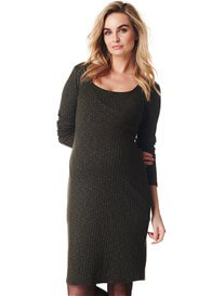 Noppies - Giulia Nursing Knit Dress in Army