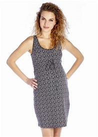 Queen mum - Micky Tank Dress in Black Print - ON SALE