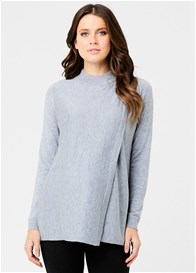 Ripe Maternity - Rib Neck Knit Nursing Top
