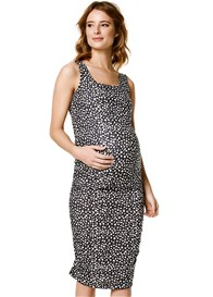 Supermom - Polkadot Ruched Tank Dress