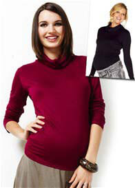 Queen Bee Destiny Turtleneck Maternity Top by Trimester Clothing