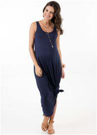 Queen Bee Heavenly Blue Maternity Maxi Dress by Trimester Clothing