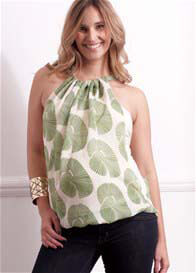 Queen Bee Kyoto Green 8 Way Maternity Top by LiL Designs