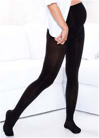 Queen Bee Gradient Compression Maternity Tights in Black by Preggers