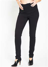Queen Bee Slim Leg Black Maternity Pants by Ripe Maternity