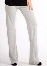 Queen Bee Noah Maternity Pants in Grey by LA Made