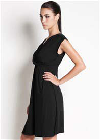 Queen Bee Twinkle Nursing Dress in Black by Dote Nursingwear