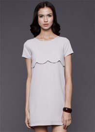 Queen Bee Alexa Nursing Dress in Grey by Dote Nursingwear