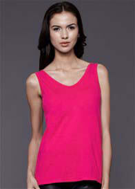 Queen Bee Classic Nursing Tank Top in Fuchsia by Dote Nursingwear