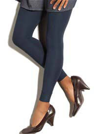 Queen Bee Navy Blue Gradient Compression Maternity Leggings by Preggers