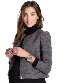 Queen Bee Tweed Maternity Jacket by Esprit