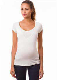 Pomkin - Milkizzy Lise Nursing Top in Ecru