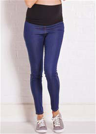 Queen Bee Madelina Maternity Denim Legging by Trimester Clothing
