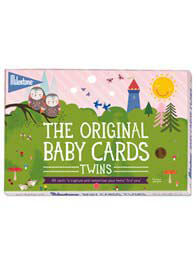 Queen Bee Baby Photo Cards for Twins by Milestone Cards