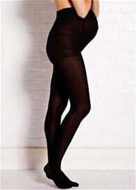 Queen Bee Black Opaque 60 Denier Maternity Tights by Noppies