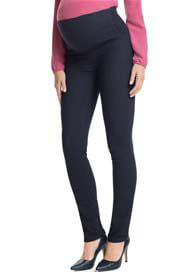 Queen Bee Over Bump Denim Maternity Jeggings in Dark Wash by Esprit