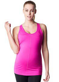Queen Bee Heath Maternity Active Tank Top in Pink by Noppies