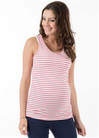 Trimester™ - Amelia Nursing Tank in Pink Stripe - ON SALE