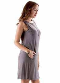 Floressa - Tegan Sleeveless Zip Nursing Dress - ON SALE