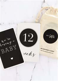 Queen Bee Pregnancy Milesteone Cards by My Little