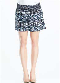 Queen Bee Nala Maternity Shorts in Streaky print by Soon Maternity