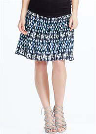 Queen Bee Shir Maternity Skirt in Streaky Print by Soon Maternity