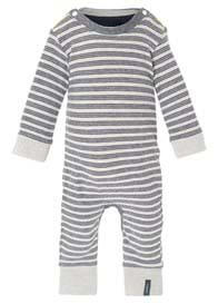 Queen Bee Ty Baby Playsuit in Navy Stripes by Noppies Baby