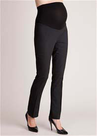 Queen Bee Black Straight Leg Maternity Trousers by Seraphine