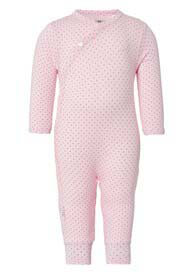 Queen Bee Rosan Baby Playsuit in Pink Polkadot by Noppies Baby