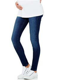 Queen Bee Reina Dark Indigo Feather Super Skinny Maternity Jeans by Mavi