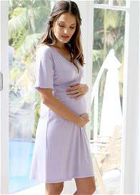 Queen Bee Lucinda Maternity Lounge Dress by Floressa