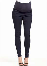 Queen Bee Over Belly Dark Wash Skinny Maternity Jeans by Soon Maternity