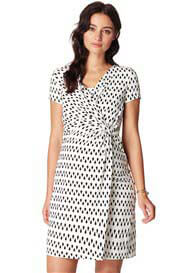 Queen Bee Fem Twist Maternity Nursing Dress by Noppies
