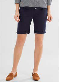 Queen Bee Night Blue Maternity Bermuda Shorts by Esprit