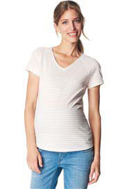 Esprit - Raglan T-Shirt in Pink Stripes