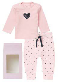 Queen Bee Baby Gift Set in Light Rose by Noppies Baby