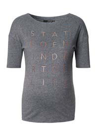 Supermom - State of Mind Tee in Grey
