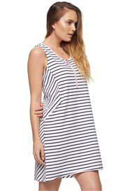 Queen Bee Leap Of Faith Zip Maternity & Feed Dress by Bae The Label