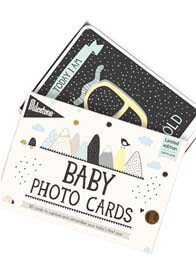 Queen Bee Over the Moon Baby Photo Cards by Milestone Cards