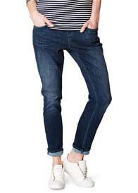 Queen Bee Relaxed Denim Maternity Boyfriend Jeans by Esprit