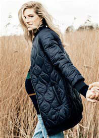 Queen Bee Germaine Quilted Maternity Jacket by Noppies