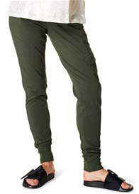 Queen Bee Maternity Cargo Joggers in Army by Supermom